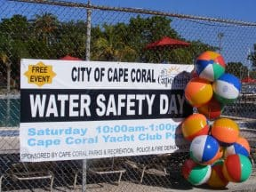 Cape Coral Water Safety Day l one by one charitable giving program l 4imprint