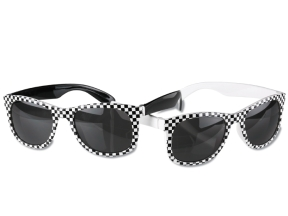 Checkered Hipster Shades - Promotional Product 115189-C from 4imprint