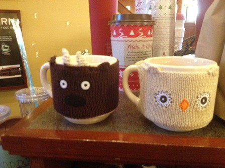 Coffee Mug Sweaters at Caribou Coffee
