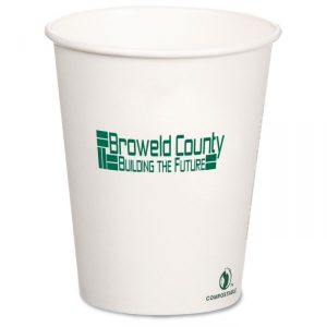 Compostable Solid Cup - green giveaways for your next event