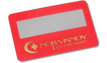 Credit Card Size Magnifier - Promotional Product 9664 from 4imprint
