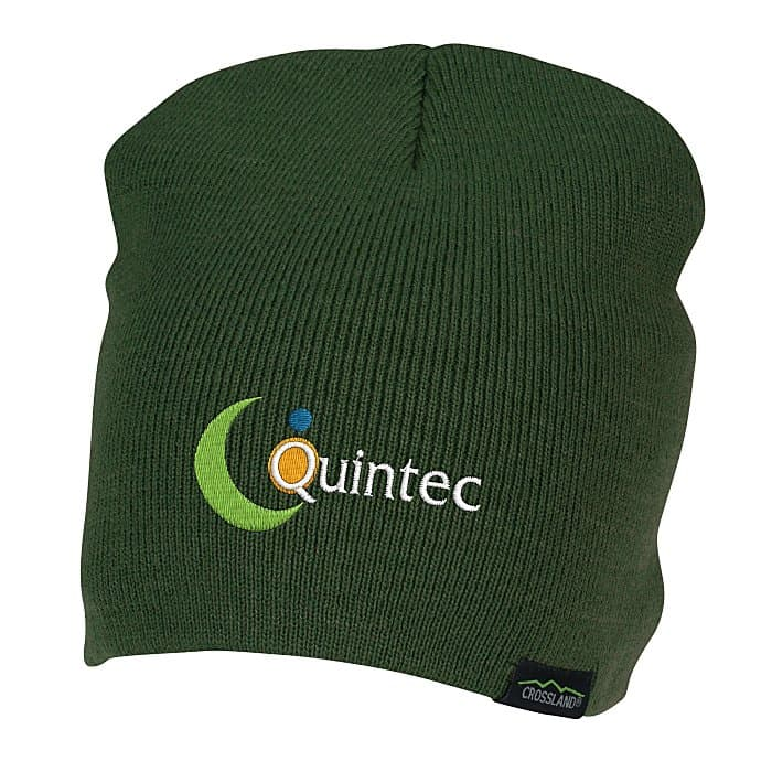 Crossland Beanie – part of the Crossland promotional fleece line.