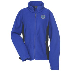Crossland Colorblock Fleece Jacket Ladies - Corporate logo jackets