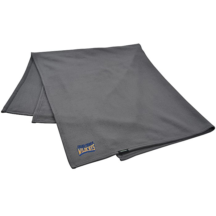 Crossland Fleece Blanket – one of our promotional blankets.