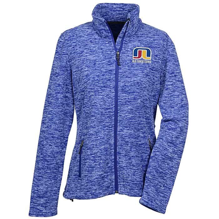Crossland® Heather Fleece Jacket Ladies