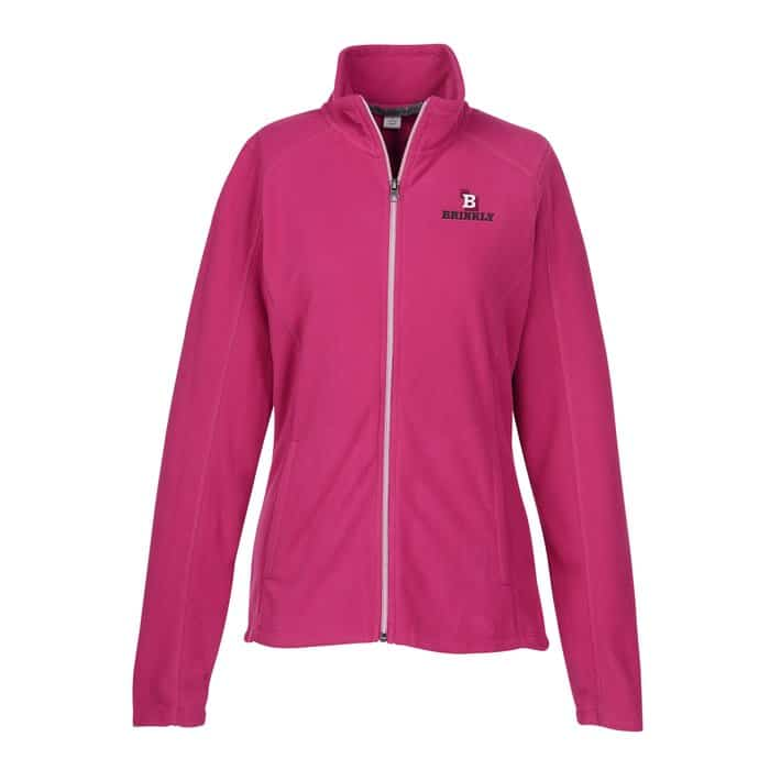 Crossland Microfleece Jacket Ladies - Corporate logo jackets