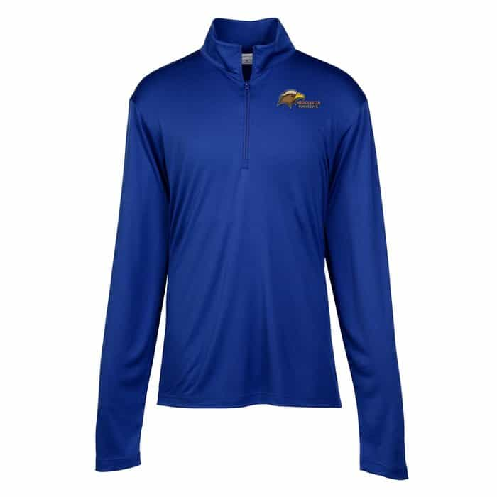 Defender Performance 1/4-Zip Pullover – Mens | Company apparel from 4imprint.