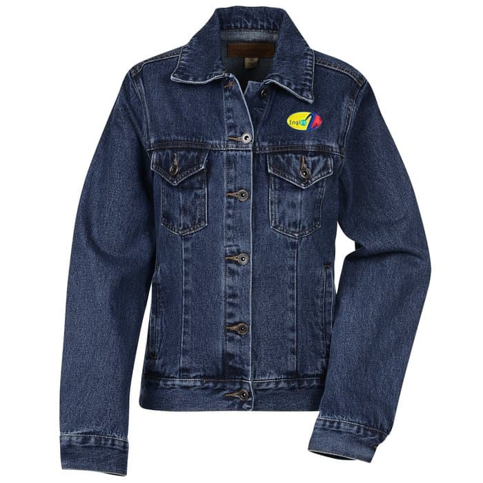 Denim Jacket – Ladies' | Cool company apparel from 4imprint.