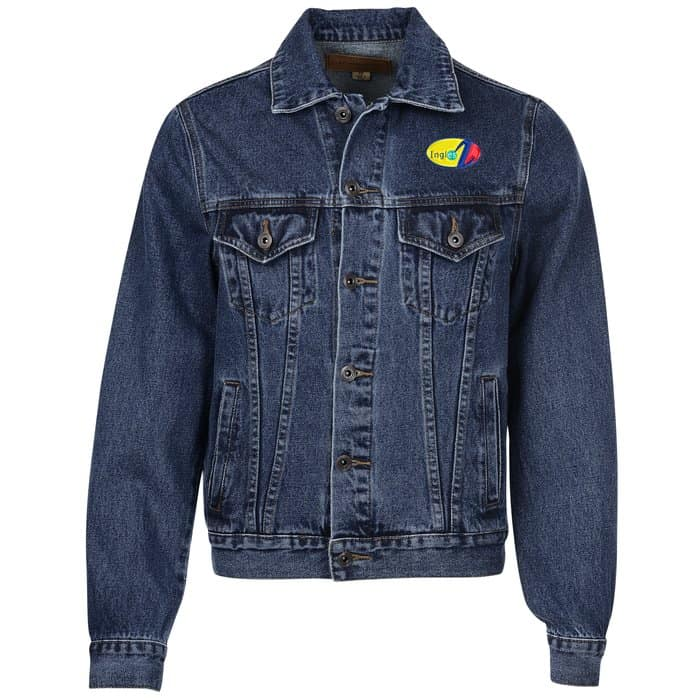 Denim Jacket – Men's| Company apparel from 4imprint.