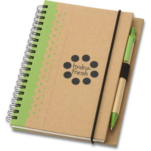 Dew Drops Recycled Jr. Notebook & Pen