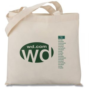 Eco Design Organic Cotton Tote - green giveaways for your next event