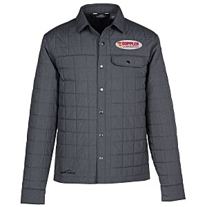 Eddie Bauer Quilted Shirt Jacket | Eddie Bauer custom jacket from 4imprint.