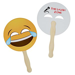Emoji Hand Fan – Tears | Summer giveaways from 4imprint.