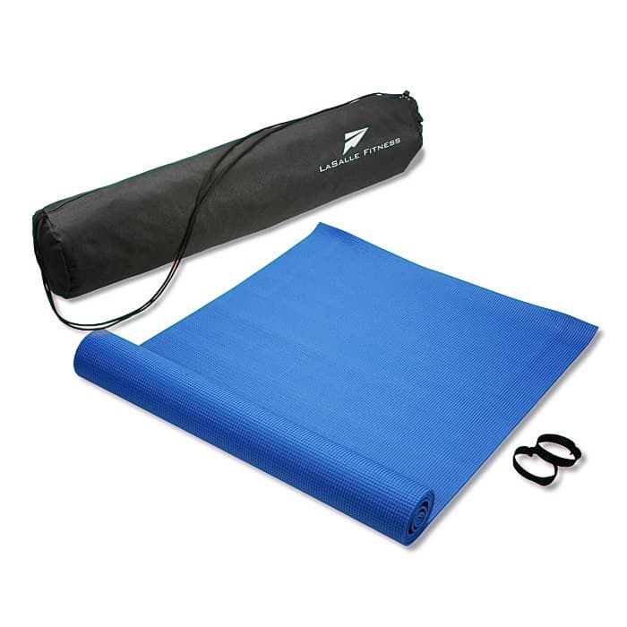 The Fitness Mat with Carrying Case is a great wellness giveaway.