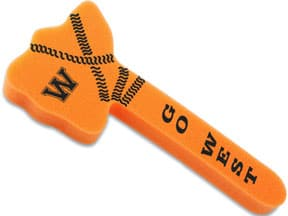 Foam Tomahawk Spirit Sticks from 4imprint