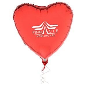 Foil Balloon – Heart | Promotional balloons from 4imprint.