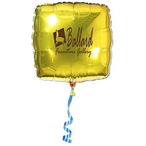 Foil Balloon – Square | 4imprint event balloons.