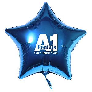 Foil Balloon – Star | 4imprint promotional balloons.