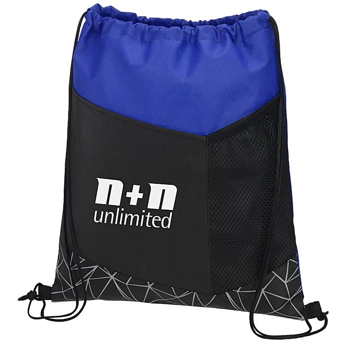 Geometric Reflective Print Sportpack l 4imprint reflective promotional items.