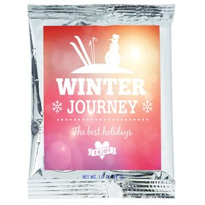 Hot Chocolate Pouch | 4imprint winter giveaways.