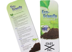 Just the Facts Bookmark - Eco Friendly | Promotional Products from 4imprint