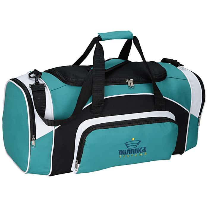 The Kadin Sport Duffel is a great wellness giveaway.