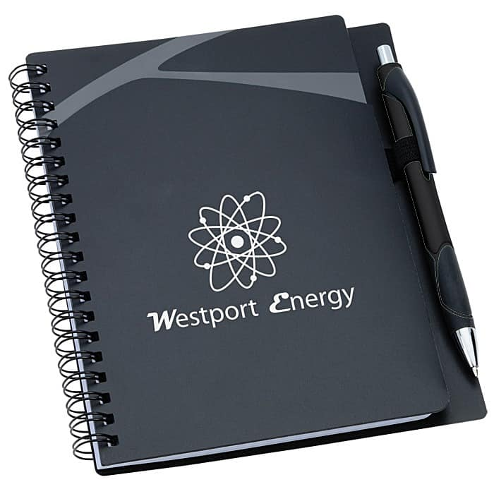 Komodo Notebook with Pen is a great promotional notebook perfect for notebook giveaways