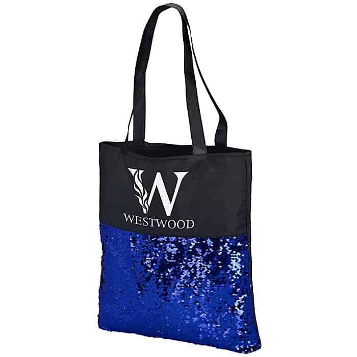 Mermaid Sequin Flip Tote | Fun swag from 4imprint