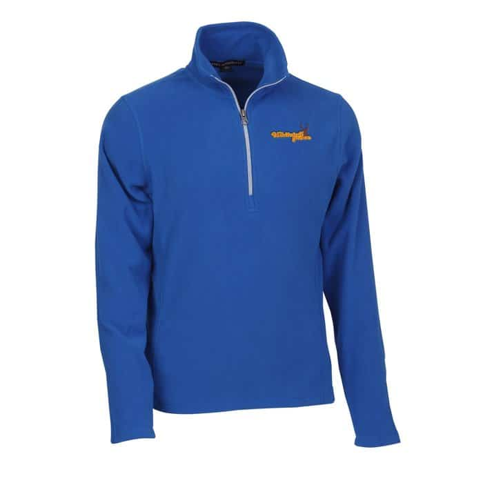 Microfleece 1/2 Zip Pullover Mens - Corporate logo jackets