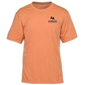Neon Orange Heathered T-shirt
