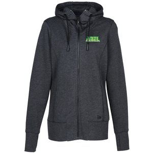 New-Era Tri-Blend Full Zip Hoodie Ladies' | 4imprint apparel giveaways.