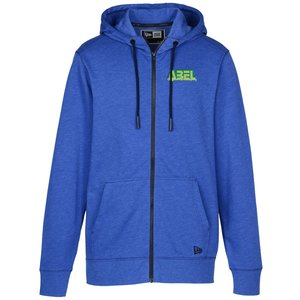 New Era Tri-Blend Full-Zip Hoodie Men | Apparel giveaways from 4imprint.