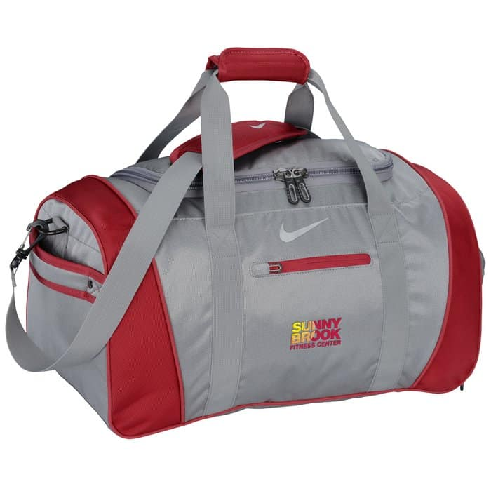 The Nike Workout Plus Duffel is a great wellness giveaway.