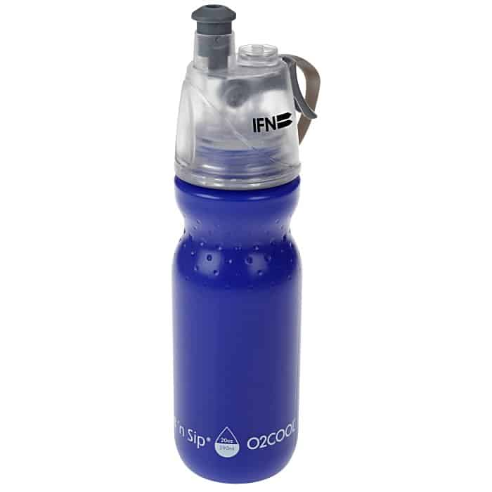 O2COOL ArcticSqueeze Classic Sport Bottle | 4imprint water bottle giveaways