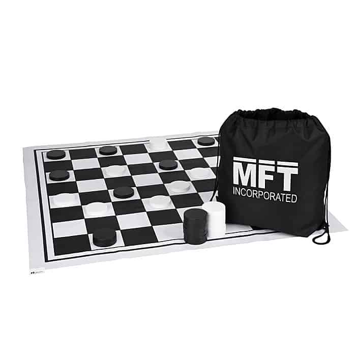 Oversized Checkers Set | Promotional games from 4imprint.