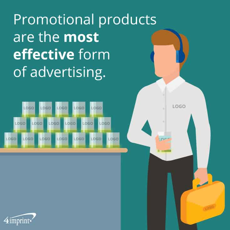 Promotional products are the most effective form of advertising. | Creative promotional products from 4imprint.