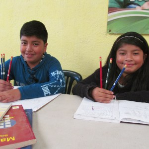 Central American Theological Seminary (SETECA) uses custom printed pencils to help schoolchildren in Central America.
