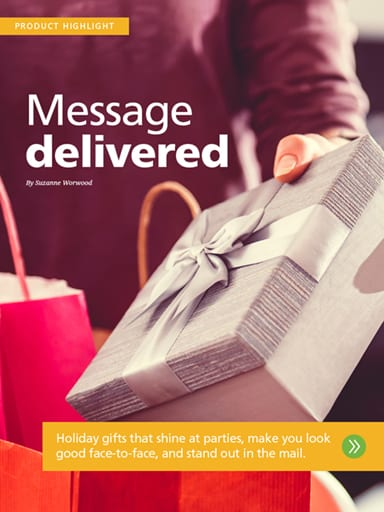 Product Highlight thumbnail: Message delivered