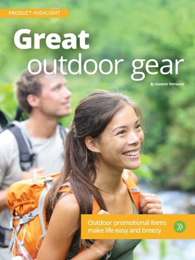 Cover of Product Highlight story: Great outdoor gear