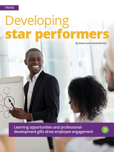 Cover of Trend: Developing star performers story