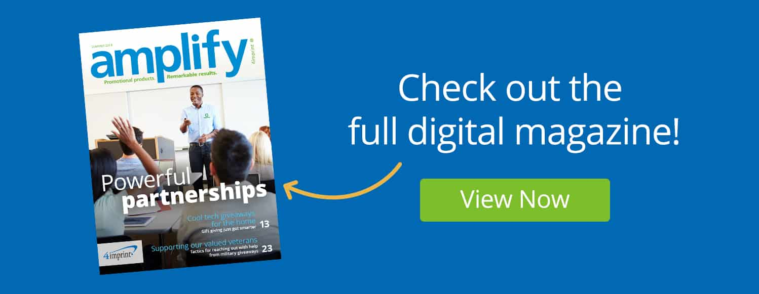Click image to check out the full digital magazine - amplify promotional products magazine