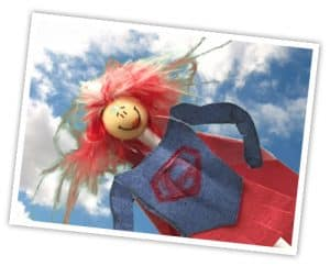 4imprint Promotional Product Magazine - Lasting Impressions - Pen dressed as superhero