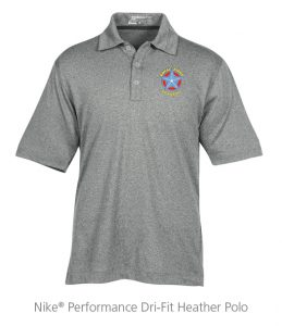 Nike Performance Dri-Fit Heather Polo