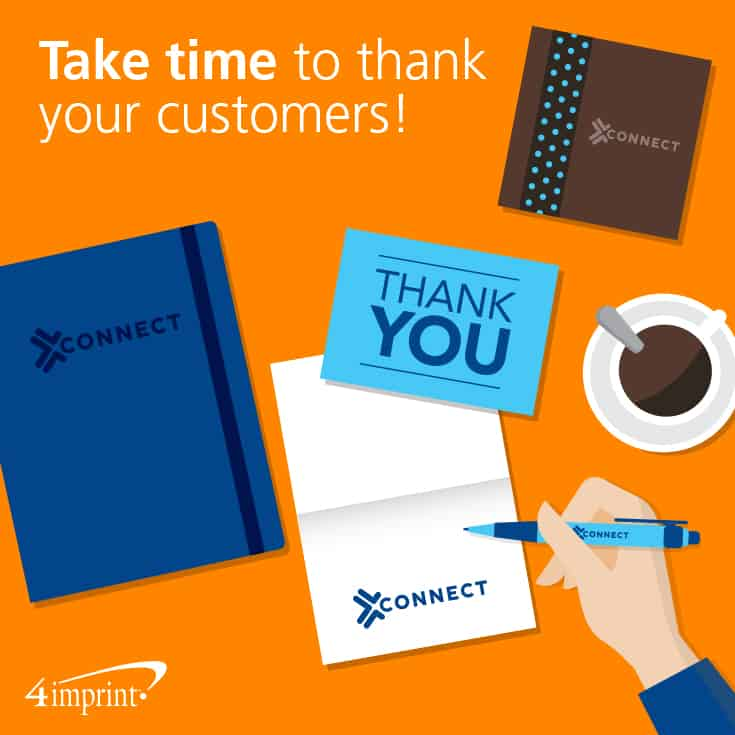 Take time to thank your customers!