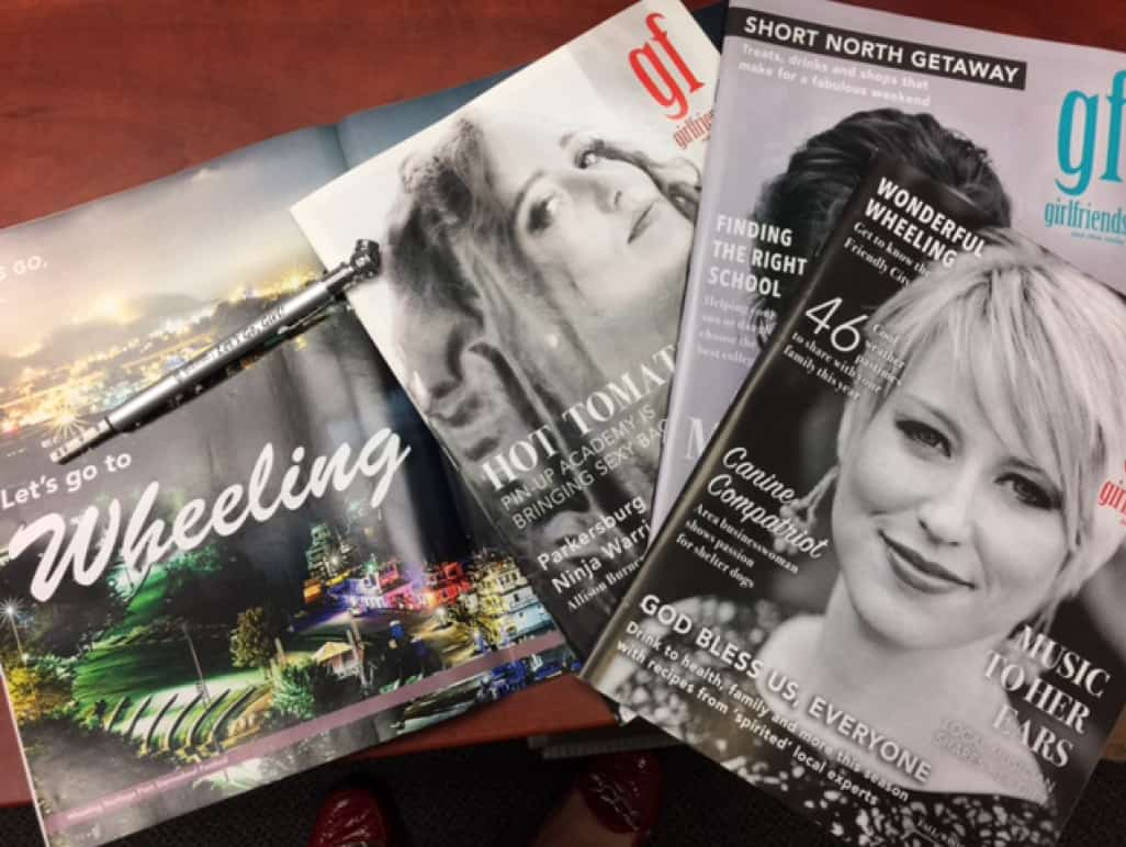 A variety of community publications.