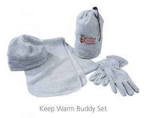 Keep Warm Buddy Set - Ideas for Winter Giveaways