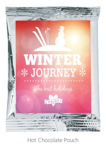 Hot Chocolate Pouch - Cold Weather Promotional Items