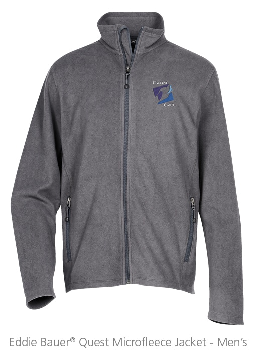 Eddie Bauer® Quest Microfleece Jacket - Men's - Ideas for Winter Giveaways