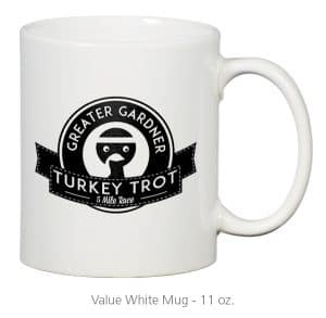 4imprint Promotional Product - Value White Mug - 11 oz.