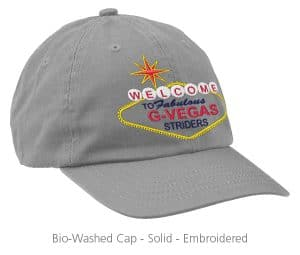 4imprint Promotional Product - Bio-Washed Cap - Solid - Embroidered
